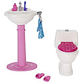Barbie Bathroom Furniture Playset