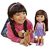Fisher-Price Nickelodeon Dora and Friends Train & Play Dora and Perrito