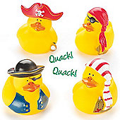 Pirate Rubber Ducks (Pack of 4)
