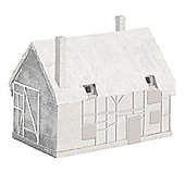 Hornby R9643 Skaledale Unpainted Thatched Derelict Cottage No.1 Model 00 Gauge