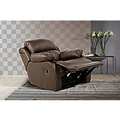 Birlea Ascot Recliner Chair - Brown