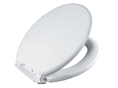 Showerdrape Seville Slow Close Toilet Seat White