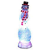 Snowtime LED Acrylic Snowman