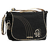 Okiedog Urban Sphinx Changing Bag, Black/Croissant