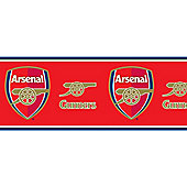 Arsenal Wallpaper Border