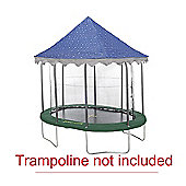 7ft x 10ft Oval Star Canopy Trampoline Tent