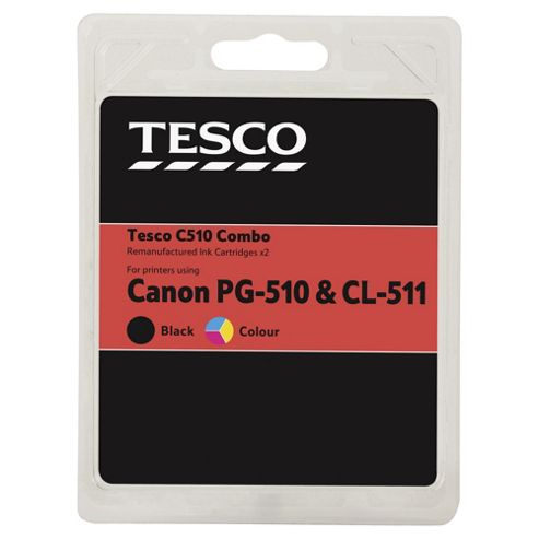 Tesco C510 Ink Cartridge - Tri-Colour