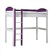 Max High Sleeper Bed - Purple