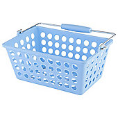 Tesco Basic Plastic Storage, Blue