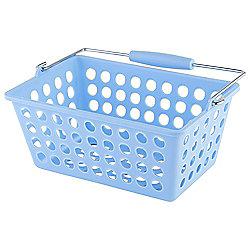 Tesco Basic Plastic Storage, Blue
