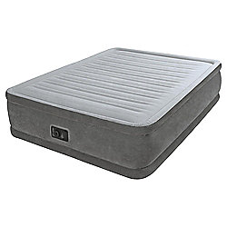 Intex Queen Comfort Raised Airbed with Built-in Pump