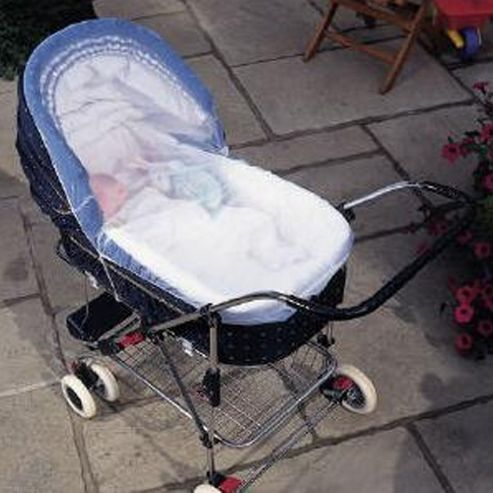 Clippasafe Pram And Carry Cot Insect Net Large