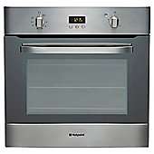 Hotpoint SHS33XS, Built-in Electric Cooker, 60cm, Stainless Steel, Single Cavity, Single Oven