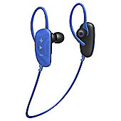 Jam Transit Fusion Wireless/Bluetooth Earbuds, Blue