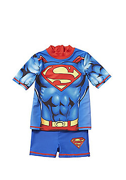 DC Comics Superman UPF 50+ Surf Suit - Multi