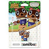 amiibo Animal Crossing Timmy and Tommy Wii U