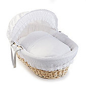 Clair de Lune Natural Wicker Moses Basket (Vintage)