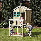 TP Forest Lodge Wooden Playhouse