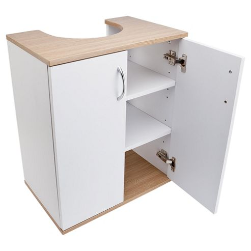 buy two tone wood undersink cabinet from our bathroom