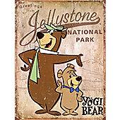 Yogi Bear Jellystone National Park Tin Sign