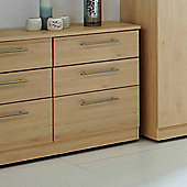 Welcome Furniture Sherwood 6 Drawer Midi Chest - Maple