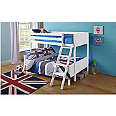 Alaska Wooden Triple Bunk Bed White