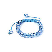 Sky Blue Crystal Friendship Bracelet