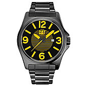 CAT DP XL multi Mens Black PVD Day & Date Seconds Sub Dial Watch PK.161.12.137