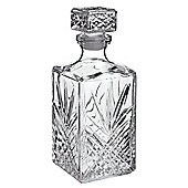 Bormioli Rocco Selecta Glass Cut Decanter for whisky / scotch 1l