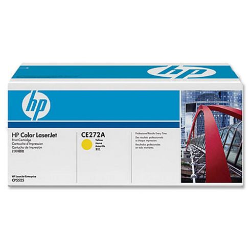 HP 650A Yellow Smart Print Cartridge (Yield 15,000 Pages) for HP Colour LaserJet Enterprise CP5525