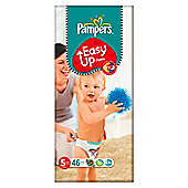 Pampers Easy Ups Size 5 Large Pack - 46 nappies