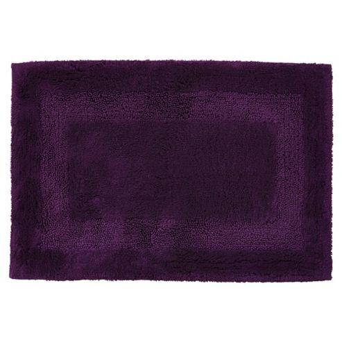 buy egyptian cotton purple bath mat from our bath mats. Black Bedroom Furniture Sets. Home Design Ideas