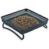 Mesh ground feeder tray