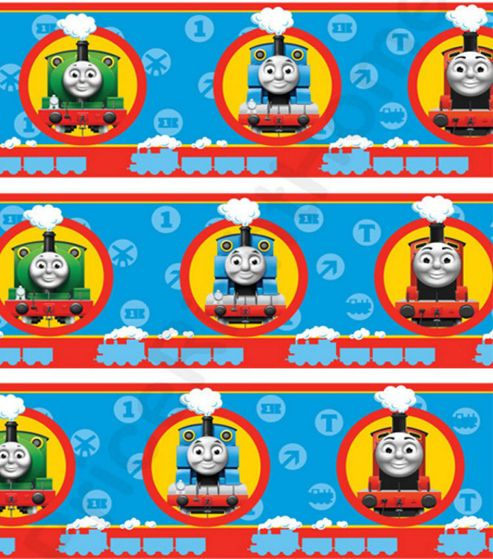 buy thomas the tank engine wallpaper border from our