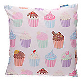 Lauren Billingham Cute Cupcakes Printed Scatter Cushion