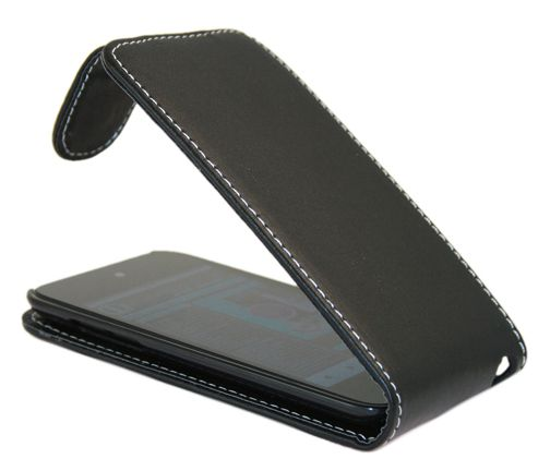 iTALKonline 14991 FlipMatic Easy Clip On Vertical Pouch Case Black - For Apple iPod Touch 4th Generation (4G)