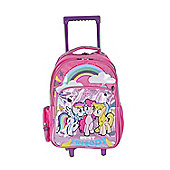 My Little Pony Glittery Wheeled Trolley Bag