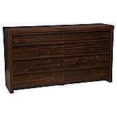 Tribeca 8 Drawer Chest Walnut