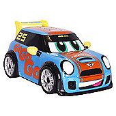Go Mini Power Boost Racer - Blue Car