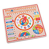 Bigjigs Toys BJ526 Calendar, Clock Days and Months
