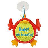 Mothercare Sunshine Garden Baby On Board Sign