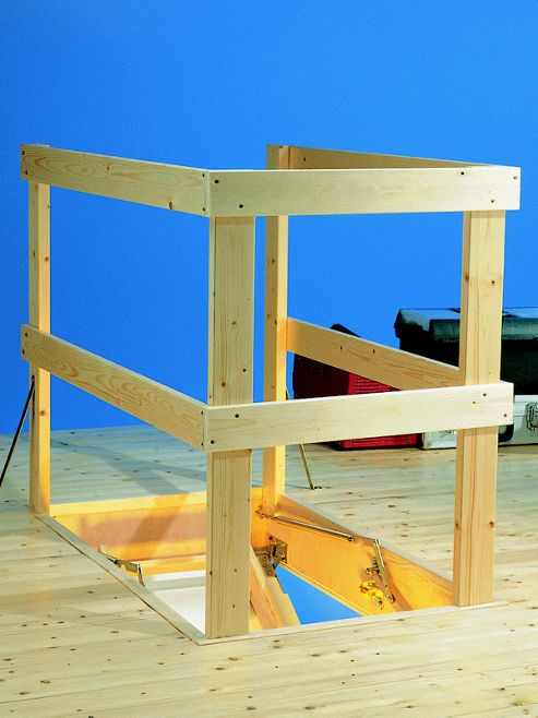 Loft Ladder Balustrade Kit