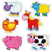 Galt Toys Baby Puzzles Farm