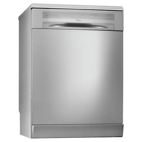 Whirlpool ADP5300SL Full Size Dishwasher, A Energy Rating. Silver