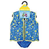 Speedo Sea Squad Swim Vest, 4-5 years, Blue