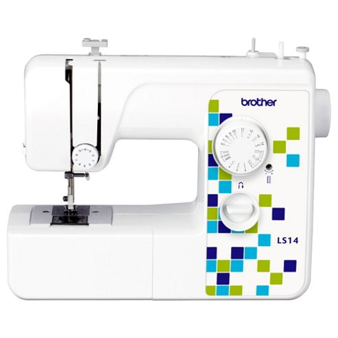 Brother LS14 Sewing Machine, White