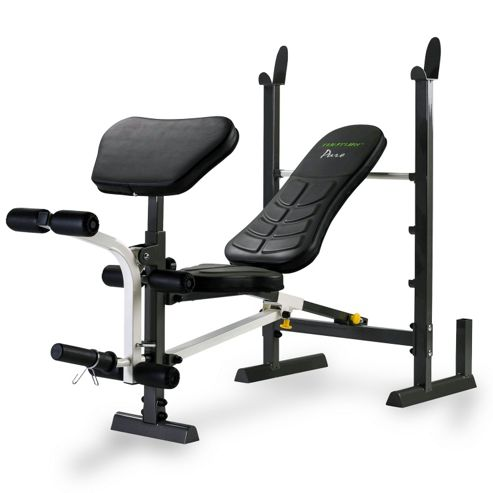 Buy Tunturi Pure Compact Weight Bench And Rack With Folding Design From Our Weight Benches Range
