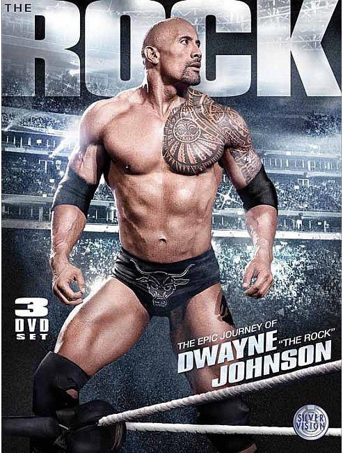 The Epic Journey Of Dwayne The Rock Johnson 3 Disc DVD