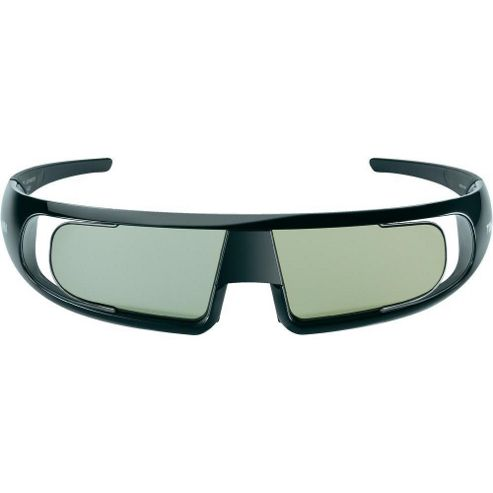 3D Glasses for Toshiba WL768B Series Active Shutter Glasses - Black