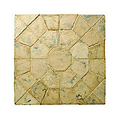 THE REAL PAVING COMPANY BALMORAL OCTAGON KIT 2.3M AUTUMN BROWN